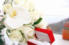 結婚祝いの胡蝶蘭 ブーケ