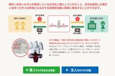 NPO法人が販売するアロンアロンの胡蝶蘭
