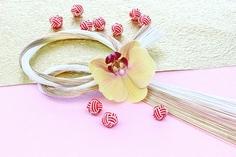 お正月飾り 材料の胡蝶蘭